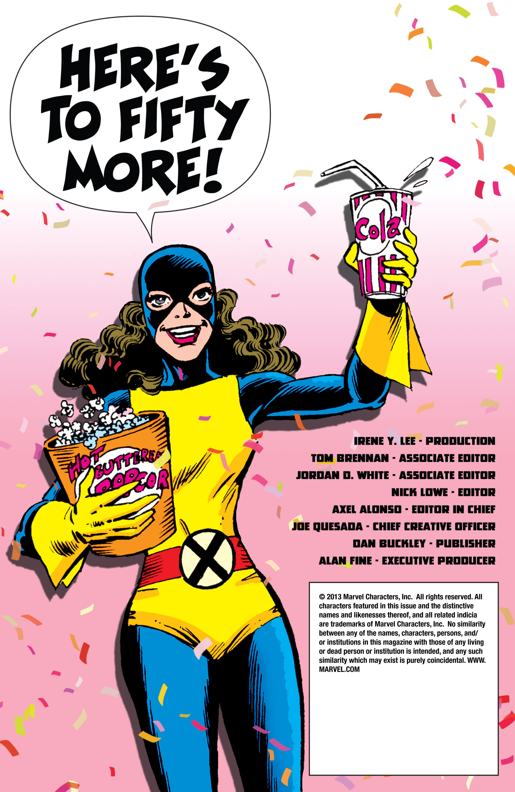 Read online All-New X-Men (2013) comic -  Issue # _Special - All-Different - 119