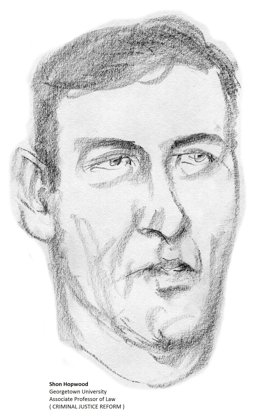 daily drawings: Shon Hopwood