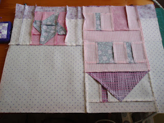 My lovely finished seams! Yay!