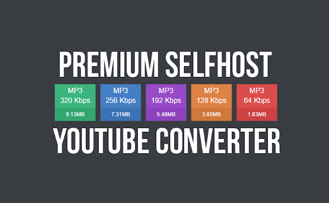 YT Converter - Create your own YouTube to Mp3 converter site