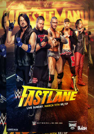 WWE Fastlane 2018 PPV 480p WEBRip 750Mb watch Online Download Full Movie 9xmovies word4ufree moviescounter bolly4u 300mb movie