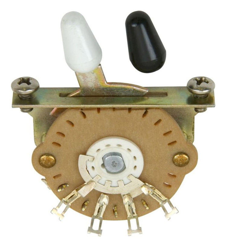 The Stratocaster 5way Switch | DIY Strat (and other