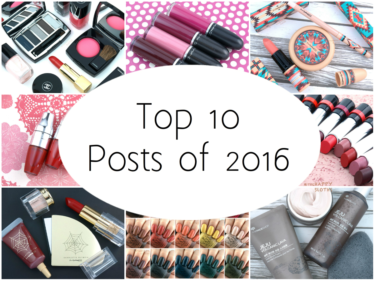 The Happy Sloths Top 10 Most-Viewed Posts of 2016