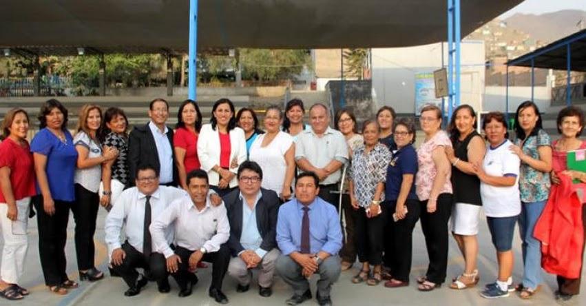 MINEDU: El ejemplo es la mejor herramienta de enseñanza, sostiene Ministra de Educación Flor Pablo Medina - www.minedu.gob.pe