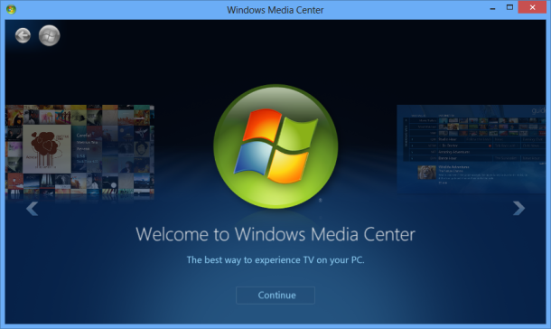 Windows media Center Shot: Intelligent Computing