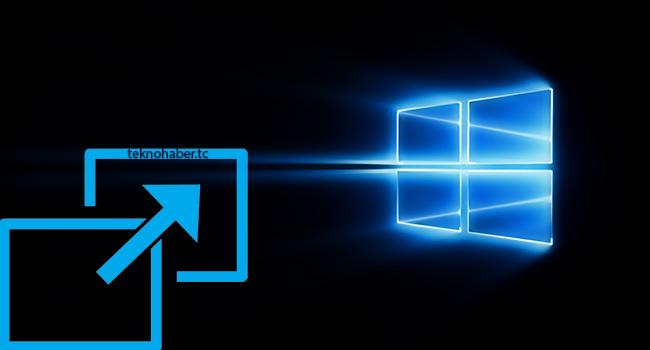 Windows 10 da Ekran Çözünürlüğü