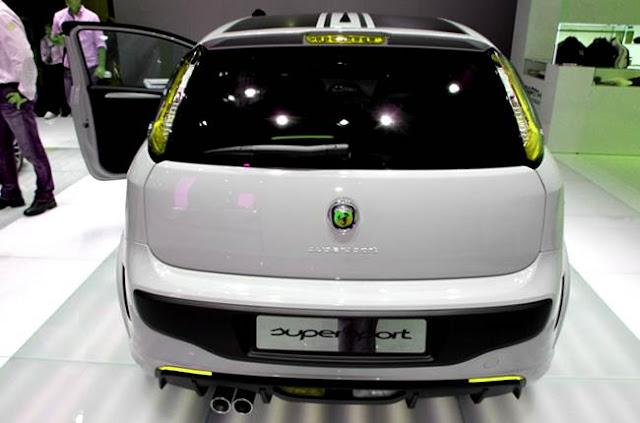 Fiat Punto Abarth Supersport Exterior