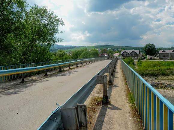 Старий Самбір. Міст через Дністер