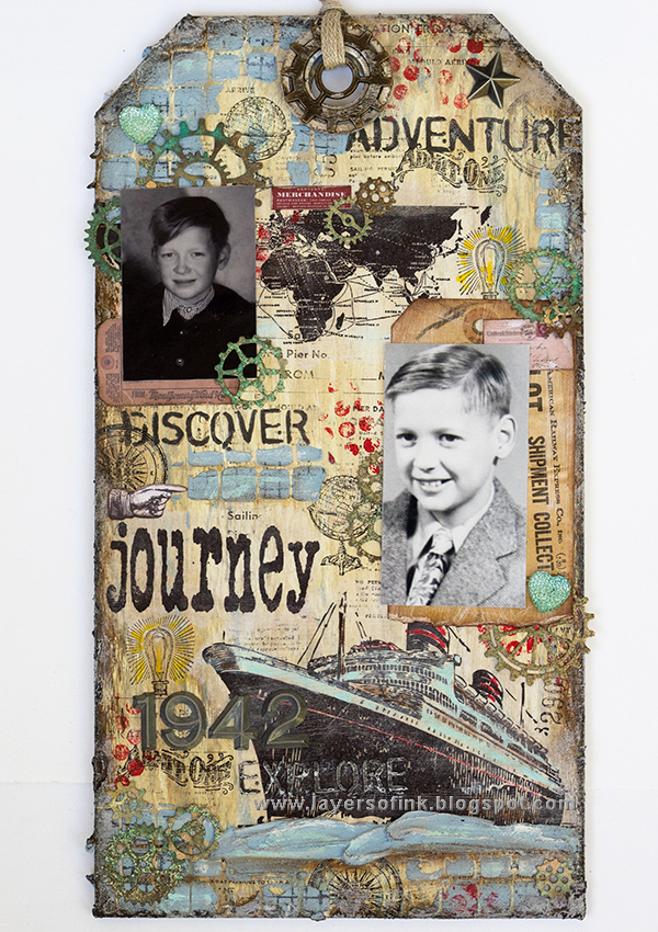 Sea Journey Etcetera Tag Tutorial