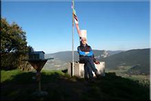 San Vítores mendiaren gailurra 895 m. -- 2017ko martxoaren 10an