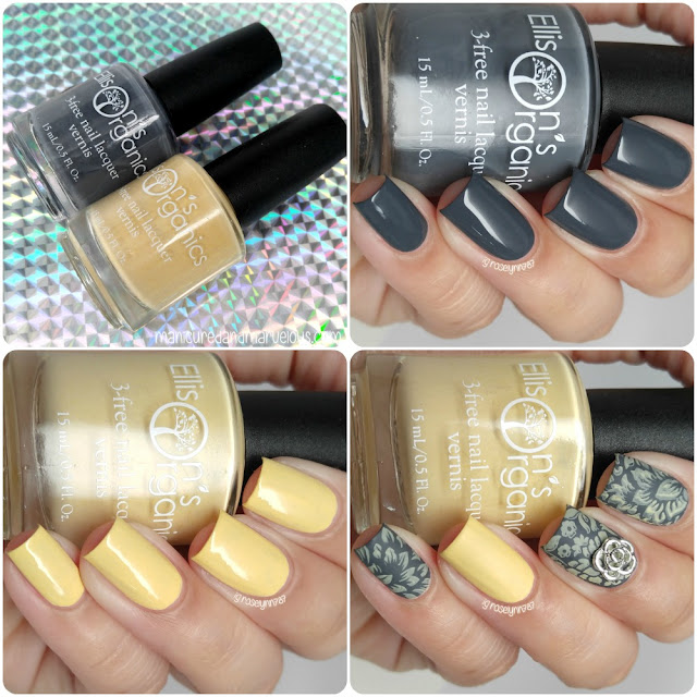Ellison's Organics - Path to Greytness & No Butter Friend Swatches