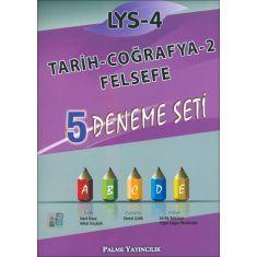 Palme LYS-4 Tarih Coğrafya 2 Felsefe 5 Deneme Seti