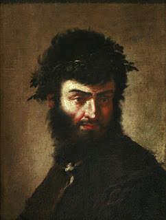 Salvator Rosa: a self-portrait (1645), which can  be seen at the Musée des Beaux-Arts in Strasbourg