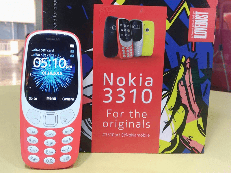 Nokia 3310 Now In PH Stores, Priced At PHP 2490