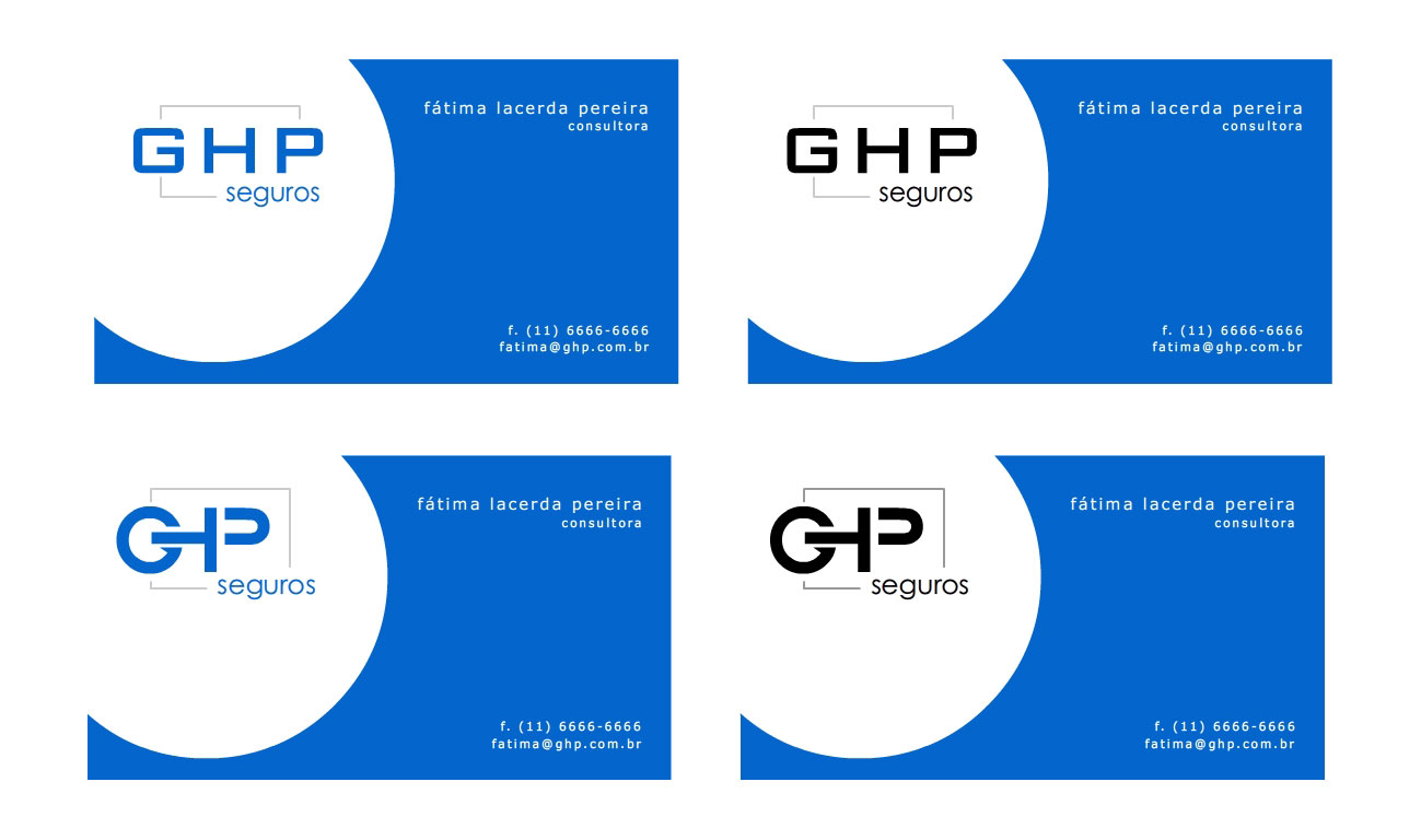 dlmenozzi | portfolio: GHP Seguros - Consultoria | Logotipos ...