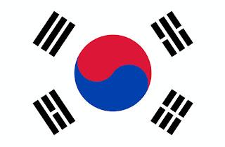 Gambar Bendera Korea Selatan