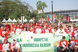 Sambut Asian Games 2018, Kemenperin-Pelaku Industri Bersihkan Jakarta
