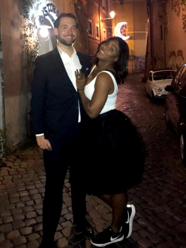 'It Feels Good:' Serena Williams Opens Up About Engagement to 'Really Nice' Fiancé Alexis Ohanian