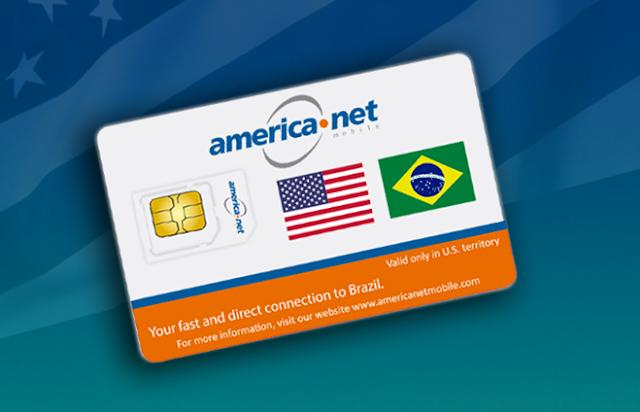 Chip America Net Pre Pago: Estados Unidos