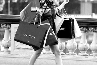Shopping spree is fun!