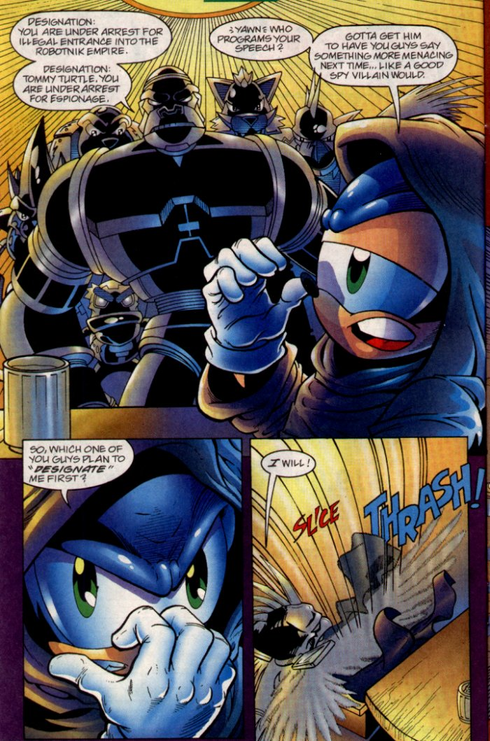 Read online Sonic The Hedgehog comic -  Issue #135 - 7