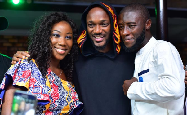 2face idibia newly married couple magodo lagos