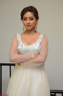 Anu Emmanuel in a Transparent White Choli Cream Ghagra Stunning Pics 123.JPG