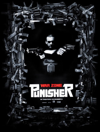 Punisher War Zone 2008 Dual