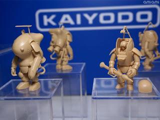 Novedades de Kaiyodo en el Wonder Festival 2018 Winter