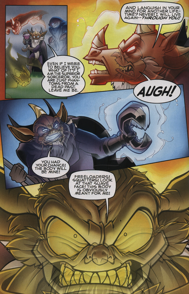 Read online Sonic The Hedgehog comic -  Issue #231 - 30