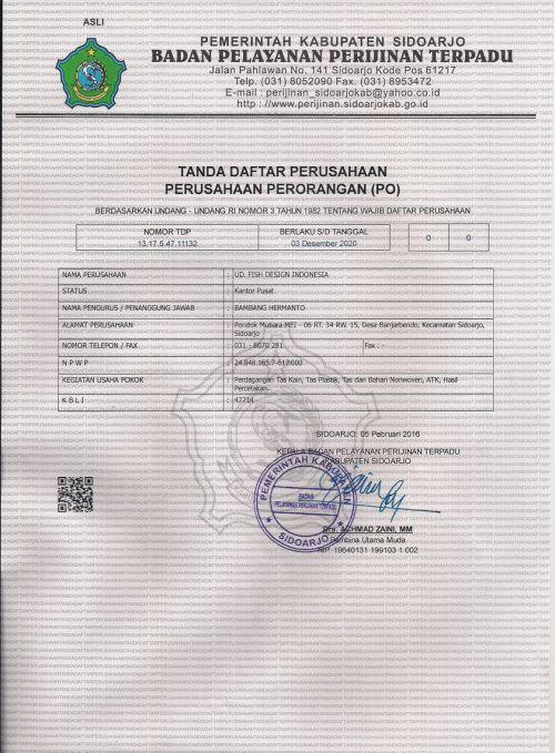 TDP Tas Spunbond Murah Surabaya