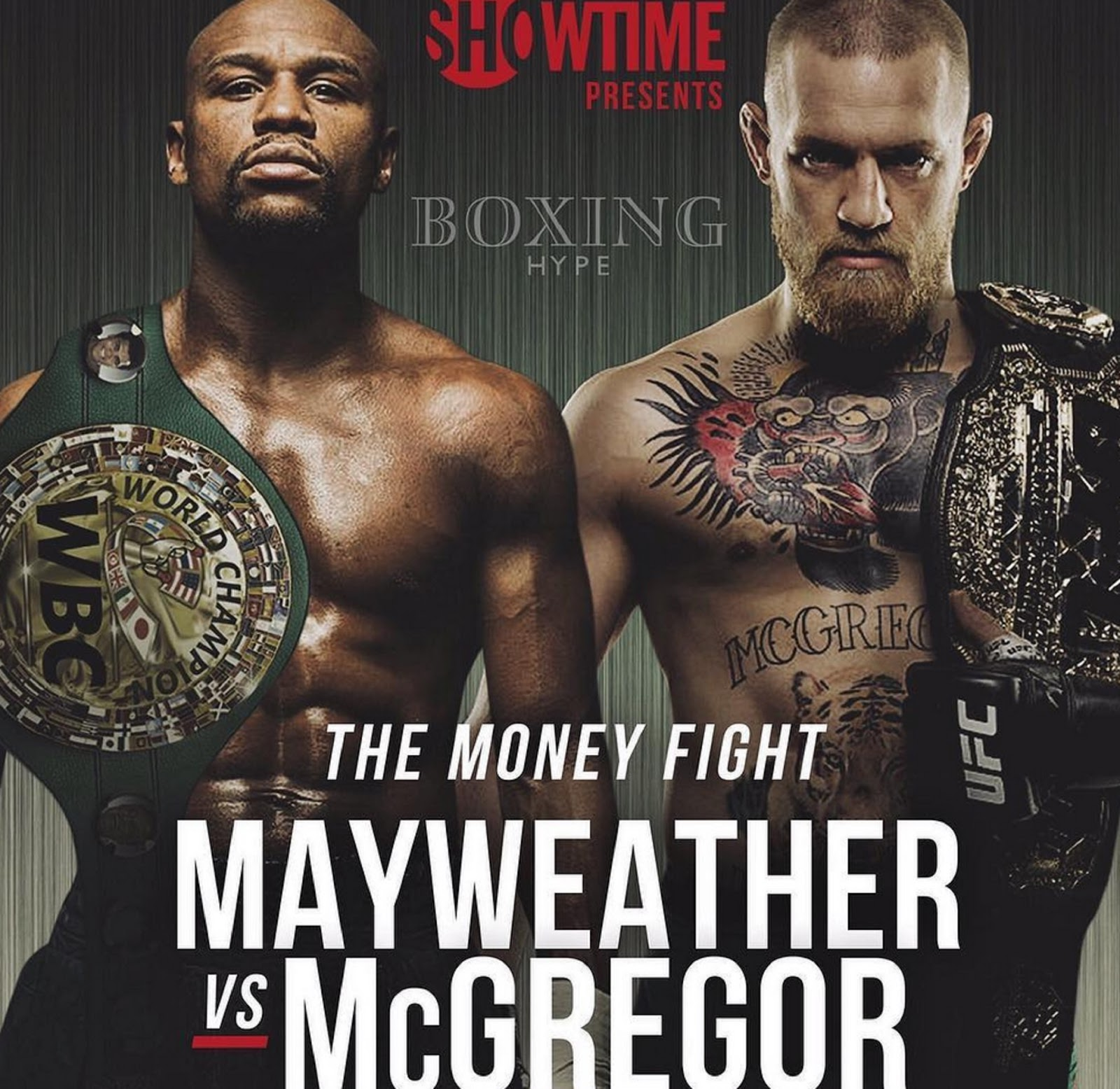 FLOYD MAYWEATHER VS. CONOR MCGREGOR 7