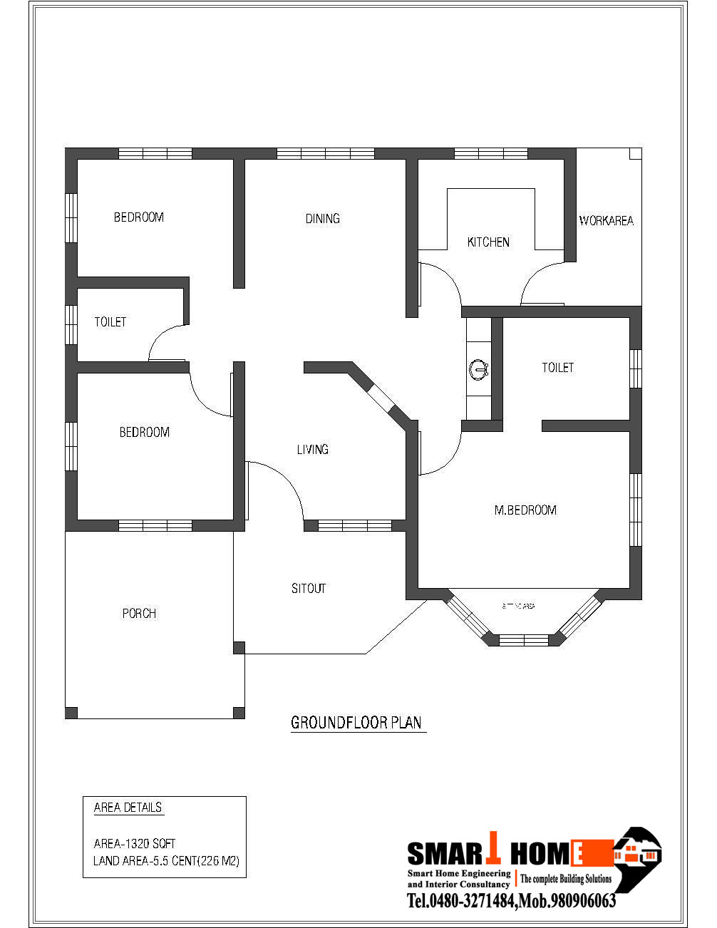 Indian House Plans in addition Wonderful 25 X 50 House Plans Planskill 1550 Home Plans Image furthermore Small House Plans further 80 square meters house floor plan moreover Stylish Home Plans 1200 Sq Ft Kerala Home Design Kerala And Home On Karala 750 House Plans   Pics. on kerala house floor plans