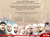 Indonesia Menyambut 2018, Digelar 31 Desember 2017