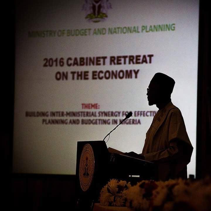Photos: President Buhari at 2017 Budget retreat in Abuja