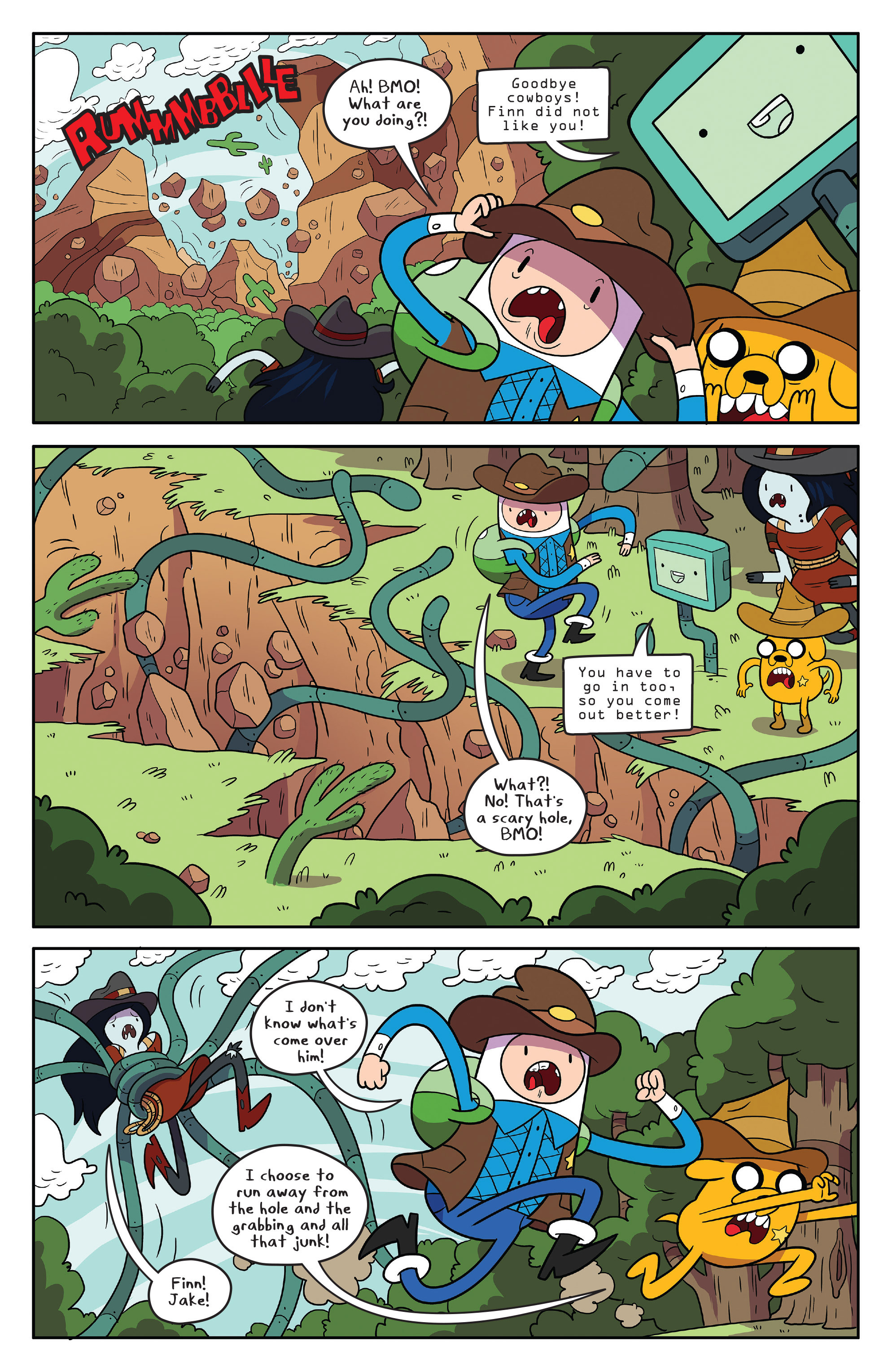 Read online Adventure Time comic -  Issue #55 - 4