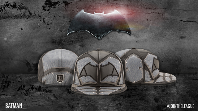7facce87bc9 Justice League Movie Character Armor 59Fifty Fitted Hat Collection by New  Era x DC Comics -