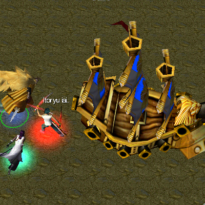 bleach vs one piece 9.0 shiki Golden Lion Battleship