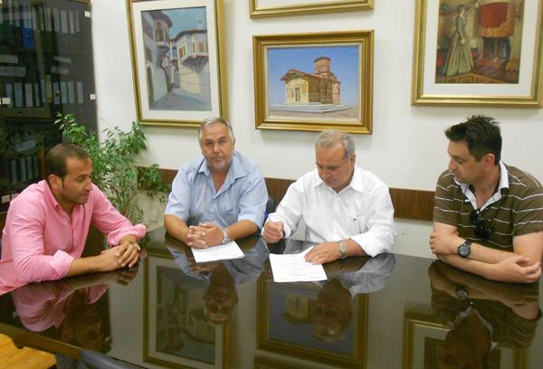 Ένα έργο είναι ζωτικής σημασίας υπεγράφη σήμερα στον Δήμο Καστοριάς