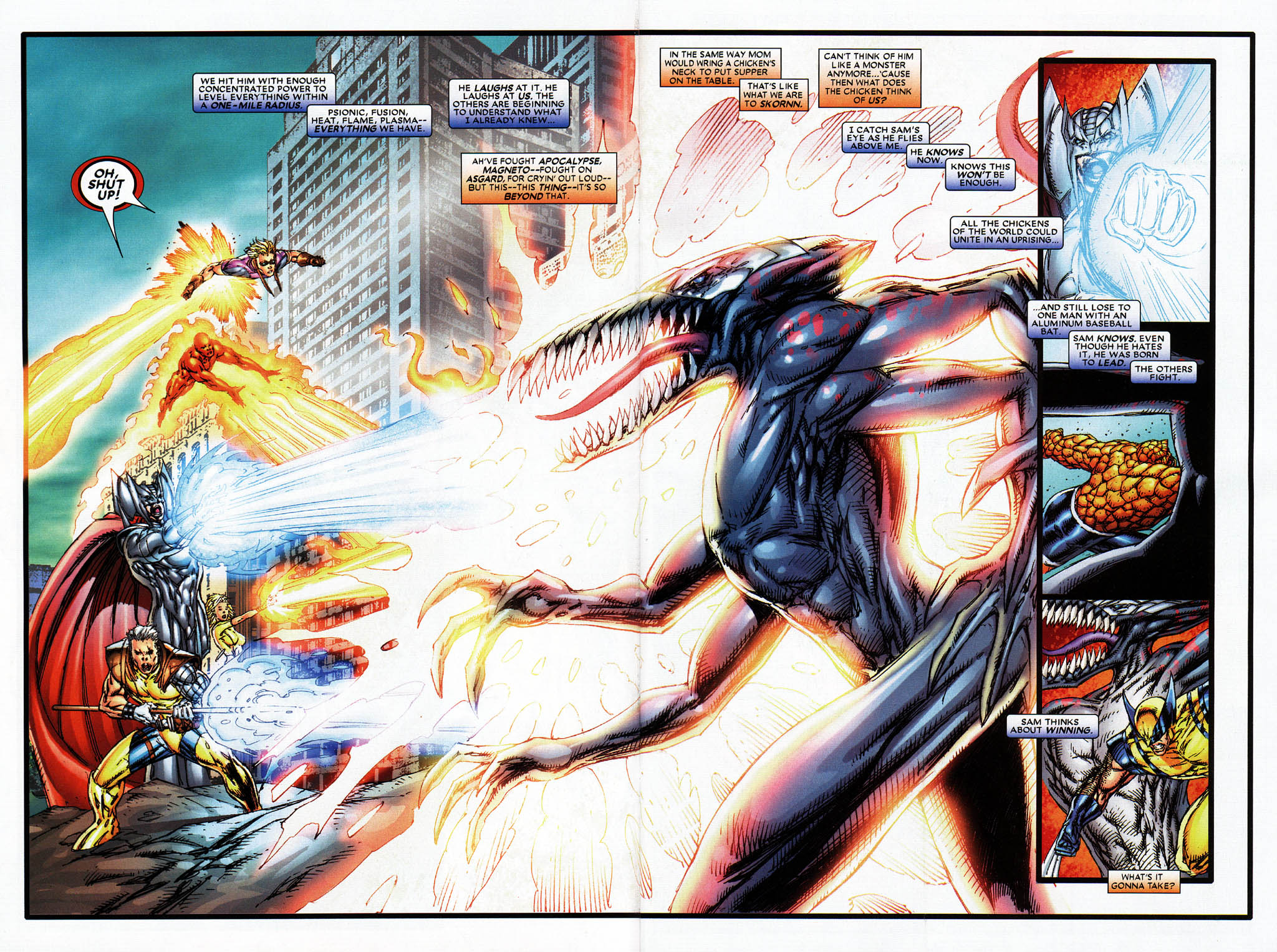 Read online X-Force (2004) comic -  Issue #6 - 7