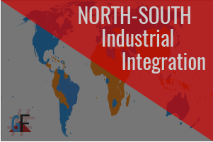 north-south industrial location