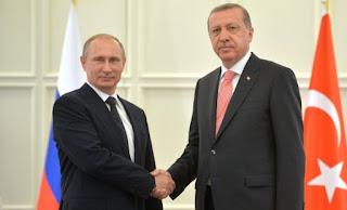 Συνάντηση Putin, Erdogan στην Άγκυρα με φόντο τη Συρία