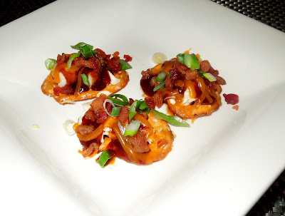 Maple-Chipotle Barbecue Chicken Appetizer Sliders