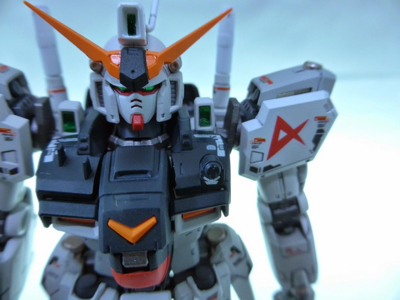 Custom Build Rg 1 144 Gundam Gp01 Zephyranthes Quot Nu Gundam