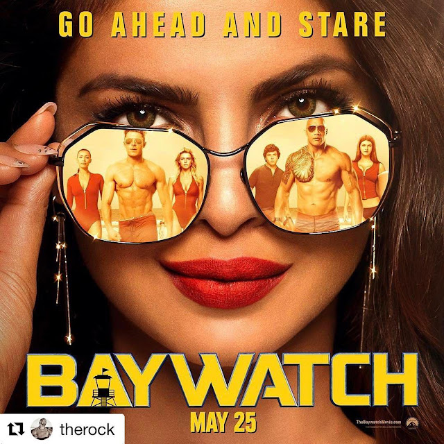 Priyanka-Chopra-Baywatch-Movie-Cover-in-Instagram