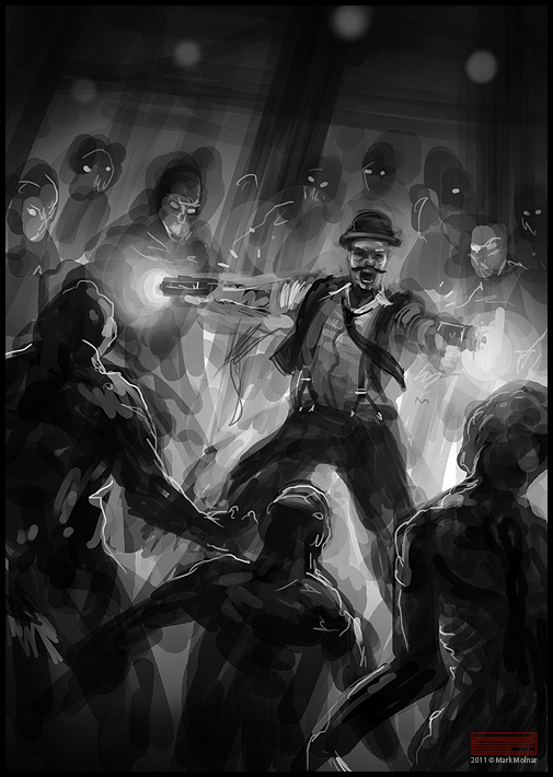 More stuff about the progress is coming soon Zombie Hunter Concept Art