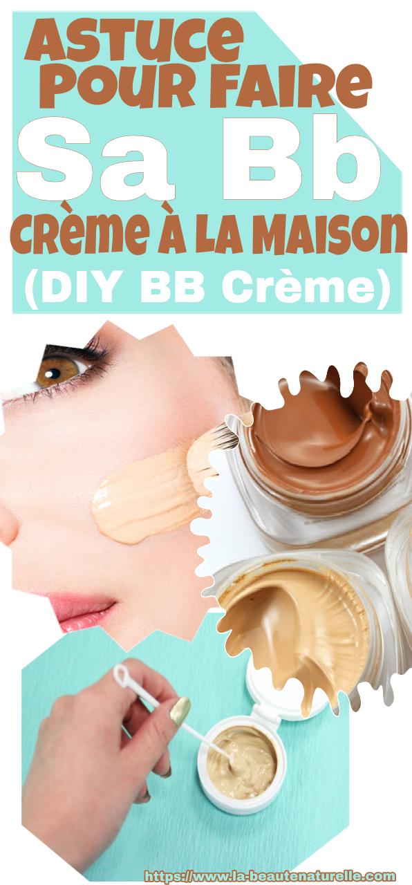 Astuce pour faire sa bb crème à la maison (DIY BB crème)