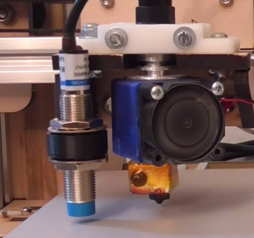 DIY 3D Printing: How to use inductive distance sensor and Mk3