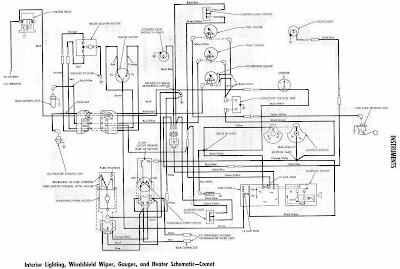 mercury comet 1964 instrument wiring diagram all about wiring diagrams rh diagramonwiring blogspot com 1965 mercury comet wiring diagram 1961 mercury comet wiring diagram