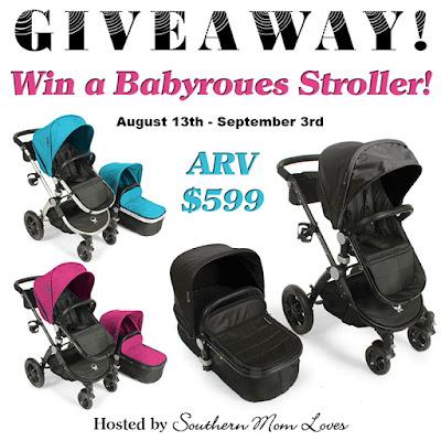 Babyroues Avant Stroller #Giveaway